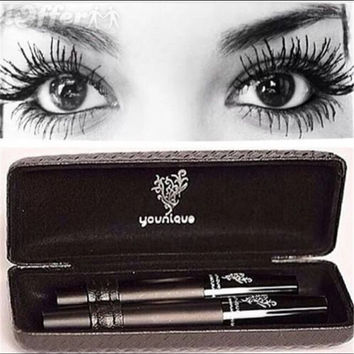 Younique Moodstruck 3D Fiber Lash Mascara Set Women Makeup Tool Waterproof Eyes Lash