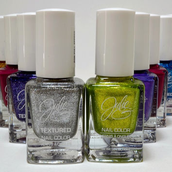 Julie Assorted Nail Polish in a variety of colors.