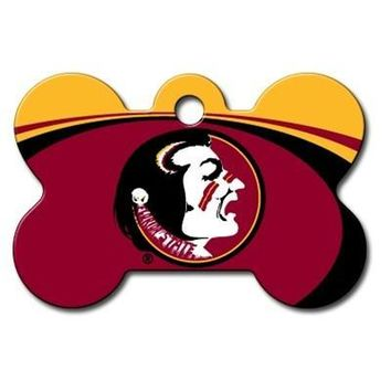 Florida State Seminoles Bone ID Tag