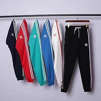 shosouvenir : Adidas Fashion Casual Stripe Drawstring Sport Running Pants Trousers Sweatpants