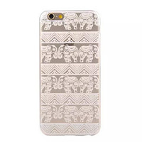 Cute Ethnic Elephant iPhone 6 6s Plus Case Super Light Cover Gift-165