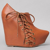 The Zup Shoe in Tobacco by Jeffrey Campbell Shoes | Karmaloop.com - Global Concrete Culture