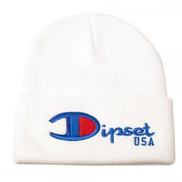 "Dipset Online Store ""DIPSET BEEN THE CHAMPS BEANIE"" Beanies"