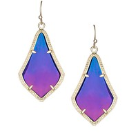 Alex Earrings in Black Iridescent - Kendra Scott Jewelry