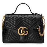 Gucci GG Marmont medium top handle bag