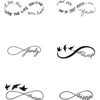 Women's Tattify 'Sweet Nothings' Temporary Tattoos