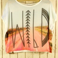 Wild Print Neon T-shirt - Back in stock - Retro, Indie and Unique Fashion