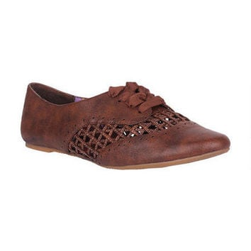 Not Rated Crosshatch Oxford