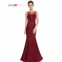Prom Dresses Ever Pretty HE08358 2016 New Arrival Women Elegant Round Neck Mermaid Maxi Long Summer Style Party Dresses