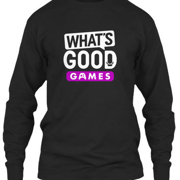 What's Good Games text logo