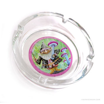 Mike DuBois Gnome Harvest Ashtray on Sale for $5.99 at The Hippie Shop