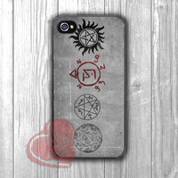 Supernatural Symbols on Wall - Fzia for iPhone 4/4S/5/5S/5C/6/ 6+,samsung S3/S4/S5,samsung note 3/4