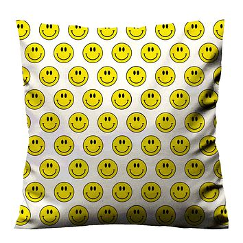 SMILEY FACE IMAGE Cushion Case Cover