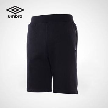 Umbro 2017 New Men Shorts Sportswear Summer Cotton Breathable Sporting Shorts UCC63715