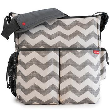 Skip Hop Diaper Bag Duo Deluxe Chevron