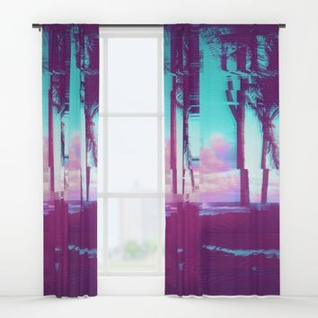 Take a Trip Window Curtains by MidnightCoffee