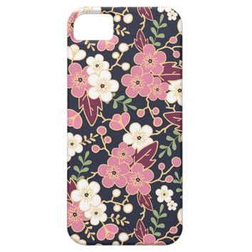 Modern Spring Floral Pattern iPhone 5 Cover