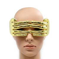Connected Fingers Glasses (Gold/Silver)