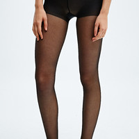 20 Denier Sheer Tights in Black - Urban Outfitters