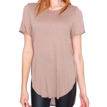 Good Day Top - Taupe