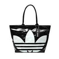 ADIDAS Trending Women Shopping Bag PU Leather Shoulder Bag Handbag Tote Black