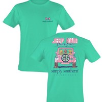 """Limited Edition Simply Southern """"Jeep Hair"""" Short sleeve tee"""