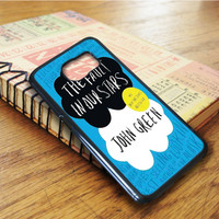 The Fault In Our Stars Qoutes Samsung Galaxy S6 Edge Case