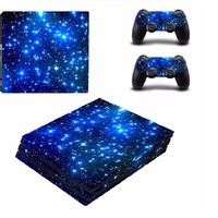 PS4 Pro Skin Stickers for Console and 2 Controllers