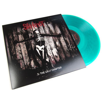 Slipknot: .5 - The Gray Chapter (Indie Exclusive Clear Green Viny) Vinyl 2LP