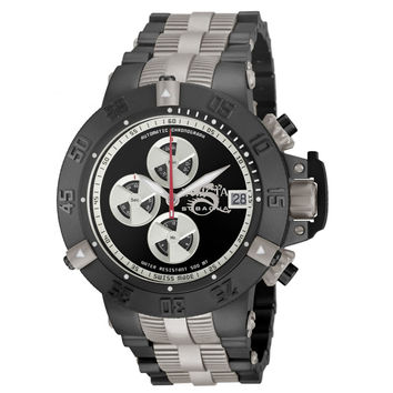 Invicta 11642 Men's Subaqua Noma III Automatic Black IP Steel Bracelet Chronograph Dive Watch