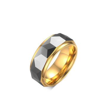 Gift Jewelry New Arrival Shiny Stylish Titanium Accessory Men Ring [10783257731]