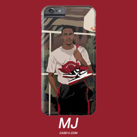 Vintage Michael Jordan Jumpman Illustration IPhone / Galaxy Phone Case