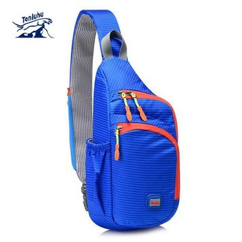 Chest Bag Outdoor Cycling Sling Bag Lightweight Waterproof Chest Sports Bag Unisex Shoulder Backpack Packs Travel Bags S330