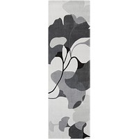 Surya Cosmopolitan COS9172 Grey/Neutral Floral and Paisley Area Rug
