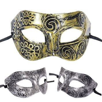 Men Women Sexy Costume Prom Mask Venetian Mardi Gras Party Dance Masquerade Ball Halloween Mask Fancy Dress Costume