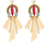 Plus Size Shenandoah Stone Earrings | Fashion To Figure