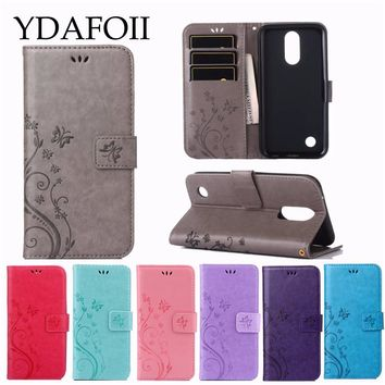 Luxury Retro Flip Case For LG K3 K4 K8 2017 K10 2017 Leather&Soft Silicon Wallet Cover For LG G6 G5 G3 Mini Case phone Coque