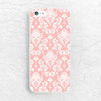 Damask peach pink Elegant Vintage phone case for iPhone 6, 6 plus, Sony z1 z2 z3 compact, LG g2 g3 nexus 5, HTC one m7 m8, Moto x Moto g -P7