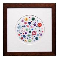 Millefiori on White Linen