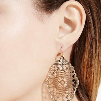Filigree Drop Earrings | Forever 21 - 1000169889