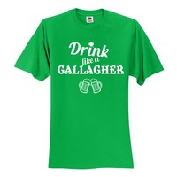 "Shameless ""Drink like a Gallagher"" T-Shirt"