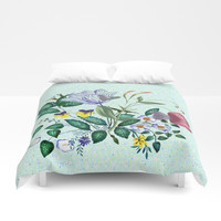 The earth never tires Duvet Cover by anipani