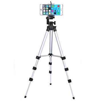 Professional Camera Tripod Stand Holder For Smart Phone iPhone Samsung C