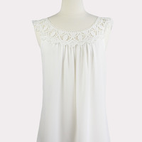 Lily of the Valley Crochet Top