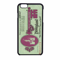 Disneyland Ticket iPhone 6 Case