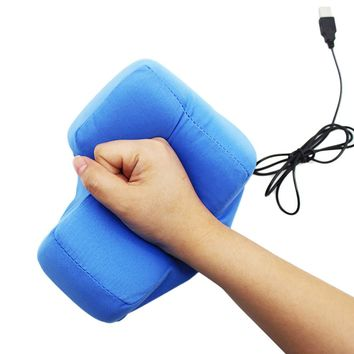 Big Enter Key USB Pillow Anti-stress Relief Super Size Enter Key Unbreakable