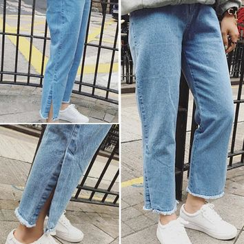 retro womens summmer denim jeans pants gift 80  number 1