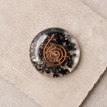 Black Tourmaline Orgone Disc