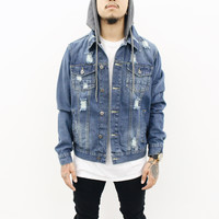 Richie Denim Distressed Jacket