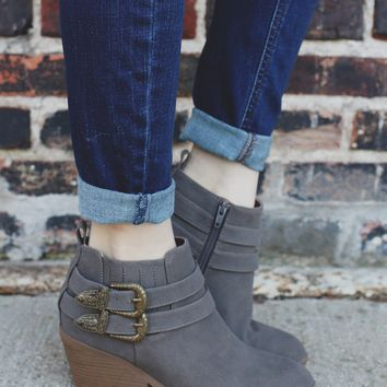 Stapleton Booties - Ash